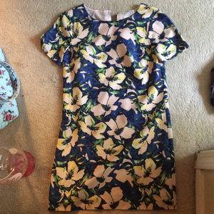 Floral Size 00P J Crew dress